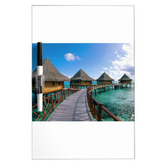 Vacation In Paradise Dry Erase Boards