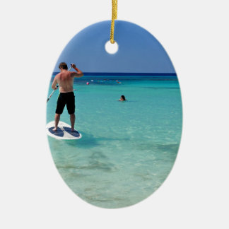 Vacation.JPG Ceramic Ornament