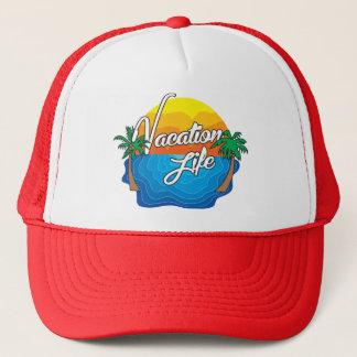 Vacation Life Trucker hat