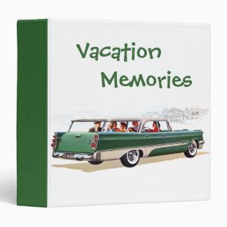 Vacation Memories Binder