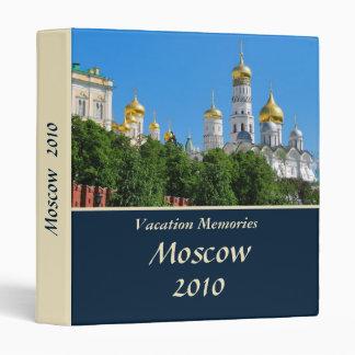 Vacation memories Russia 1'' Binder