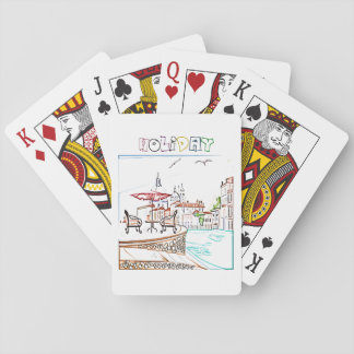Vacation Playing Cards