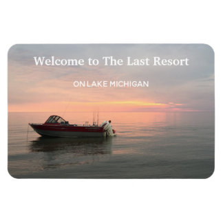 Vacation Rental Your Home Photo or Use Lake Photo Magnet