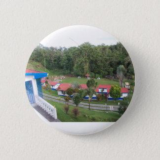 vacation retreat in costa rica 2 inch round button