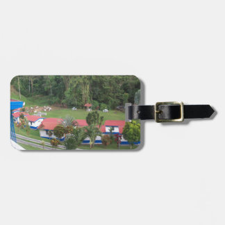 vacation retreat in costa rica luggage tag