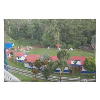 vacation retreat in costa rica placemat