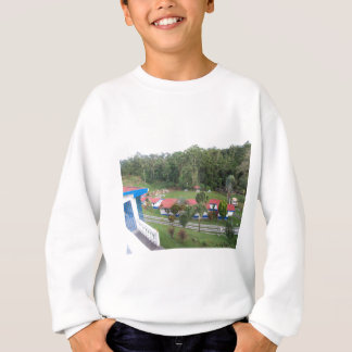 vacation retreat in costa rica sweatshirt