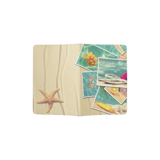 Vacation snapshots passport holder