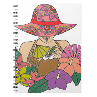 Vacation Spiral Notebooks
