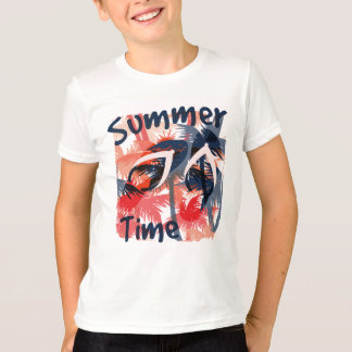 Vacation Summer Time Kid's T-shirt