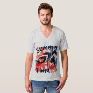 Vacation Summer Time Men's T-Shirt