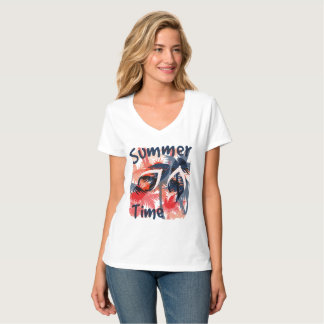 Vacation Summer Time Women's T-Shirt