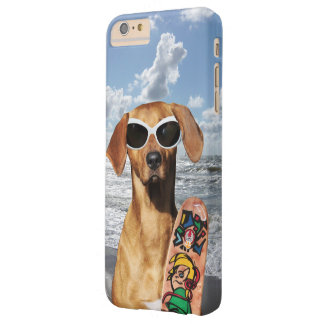 Vacation surfer dog, Rhodesian Ridgeback Barely There iPhone 6 Plus Case