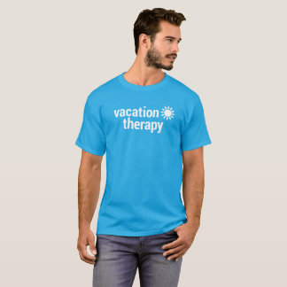 Vacation Therapy Blue T-Shirt
