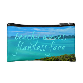 Vacation Tropical Makeup Bag