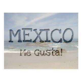 Vacation View; Mexico Souvenir Postcard