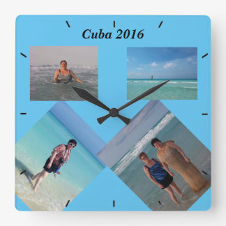 Vacation Wall Clock