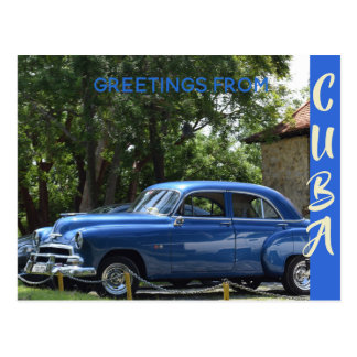 Vacations in Cuba Postcard