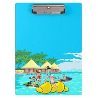 Vacations in Hawaii Clipboard
