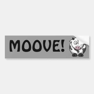 Vache mignonne autocollants pour voiture