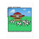 Vaches à aliens cartes postales