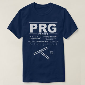 Václav Havel Airport Prague PRG T-Shirt
