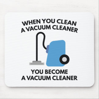 Vacuum Cleaner Mouse Pad