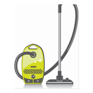 Vacuum Cleaner Postcard