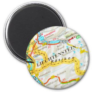 Vaduz, Liechtenstein Magnet