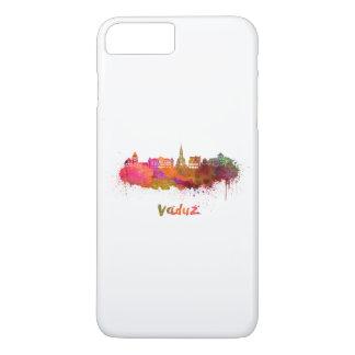 Vaduz skyline in watercolor iPhone 8 plus/7 plus case