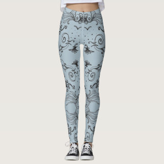 Vague Clouds Leggings