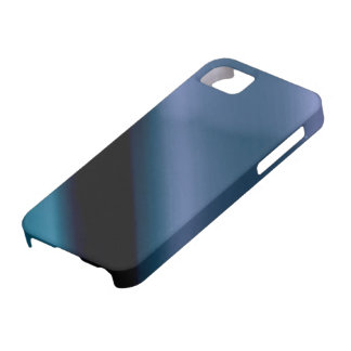 Vague l Blue-Black Abstract Case For The iPhone 5