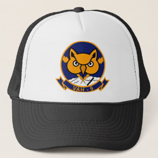 VAH - 9 Hoot Owls - Heavy Attack Squadron HATRON Trucker Hat