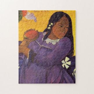 'Vahine No Te Vi' - Paul Gauguin Jigsaw Puzzle