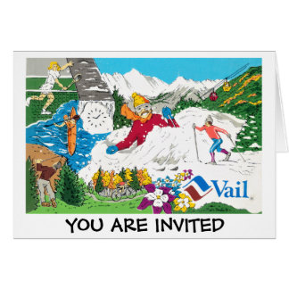 Vail Collage from 1985 Card