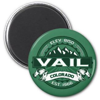 """Vail """"Colorado Green"""" Logo Magnet"""