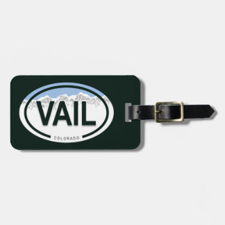 Vail Colorado Mountain Luggage Tag