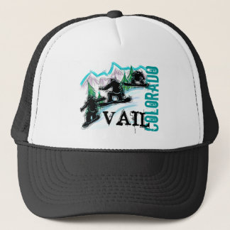 Vail Colorado snowboarder hat