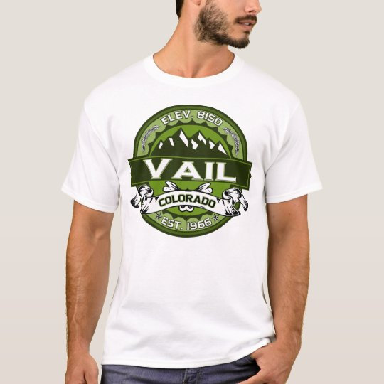 Vail Logo For Light Shirts