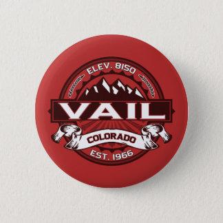 Vail Logo Red 2 Inch Round Button