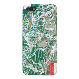vail trail map iPhone 5 cover