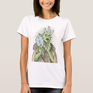 Vain Ogre with Hand Mirror T-Shirt
