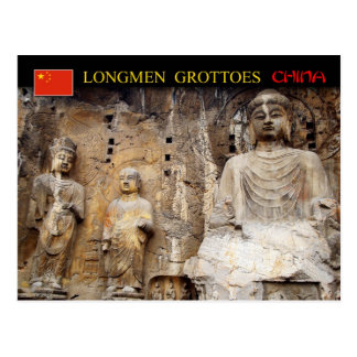 Vairocana Buddha, Longmen Grottoes, China Postcard