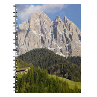 Val di Funes, Villnosstal, Dolomites, Italy Spiral Notebook