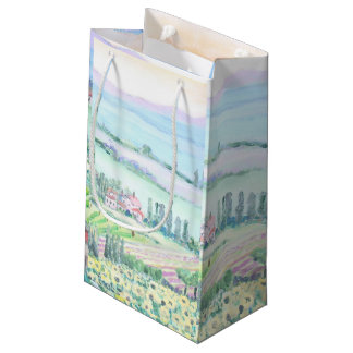 Val d'Orcia, Gift Bag, Small Small Gift Bag