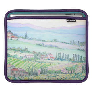 Val D'Orcia -  iPad pad Horizontal Sleeves For iPads