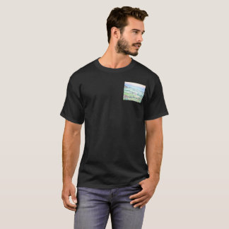 Val d'Orcia, Men's Basic Dark T-Shirt