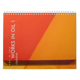 VAL M COX CALENDAR-WORKS IN OIL 1-U.S. edition Calendar