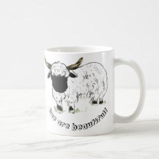 Valais Blacknose Sheep - Ewe are beautiful! Coffee Mug