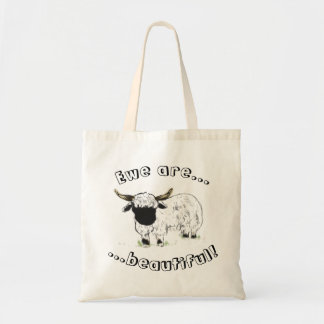 Valais blacknose sheep - Ewe are beautiful! Tote Bag